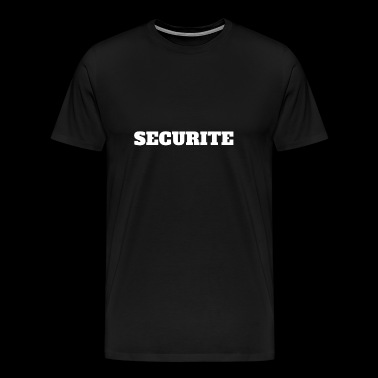 SECURITE - T-shirt Premium Homme