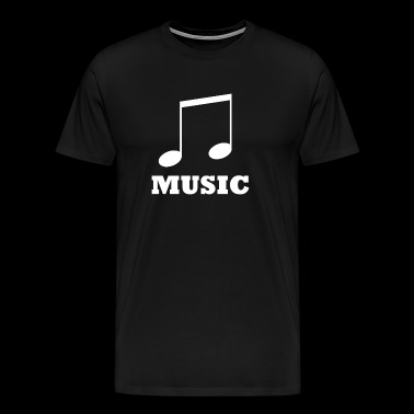 Music music - Men's Premium T-Shirt