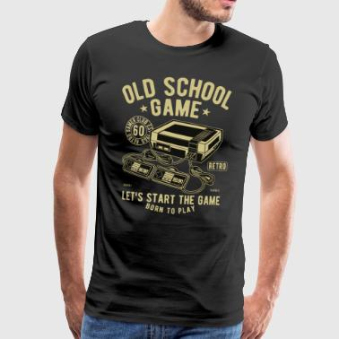 Old School Jeu - T-shirt Premium Homme