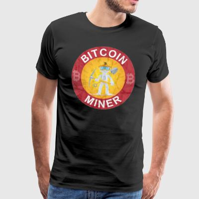 Bitcoin Miner T-Shirt Crypto Currency - Männer Premium T-Shirt