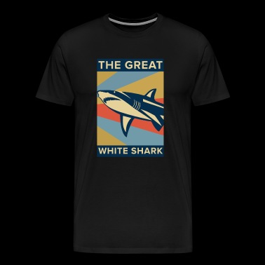 Great White Shark - Männer Premium T-Shirt