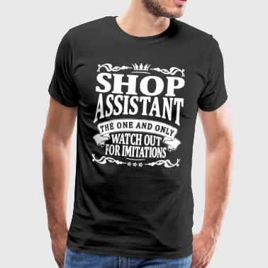 shop assistant the one and only - Men's Premium T-Shirt