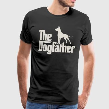 The Dogfather - German Danish Mastiff - Men's Premium T-Shirt