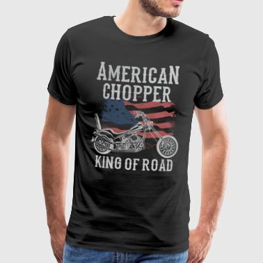 Chopper americano - King of Road - Maglietta Premium da uomo