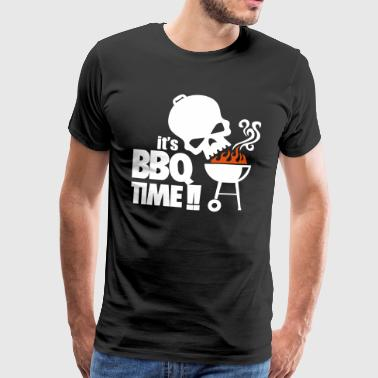 Temps barbecue - Barbecue - T-shirt Premium Homme
