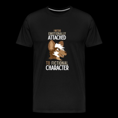 Furry Fandom Animal Foy Dog Gift - Men's Premium T-Shirt