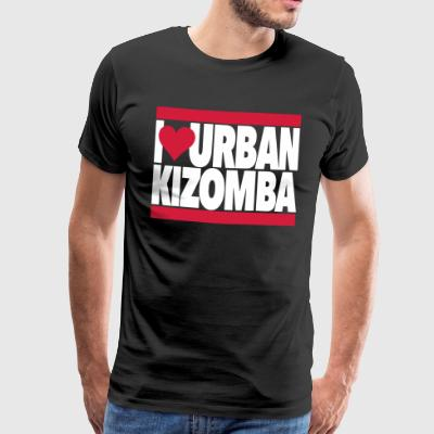 I Love Urban Kizomba - Kizomba Dance Fashion - Men's Premium T-Shirt
