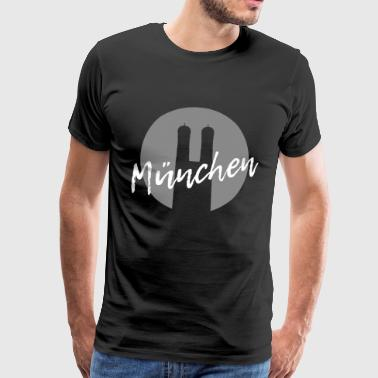 Munich | Capital Bayern design moderne - T-shirt Premium Homme
