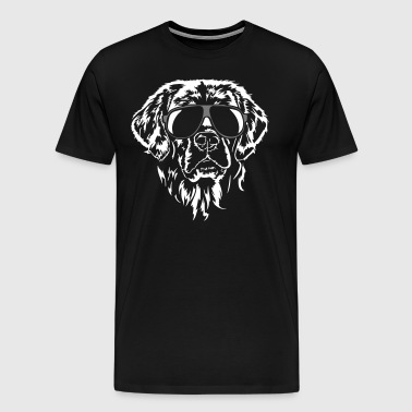 Golden retriever fraîche - T-shirt Premium Homme