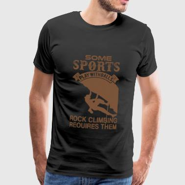 Climbing mountains sport - Men's Premium T-Shirt