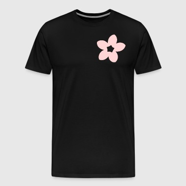 Hanami Sakura bloom - Premium T-skjorte for menn