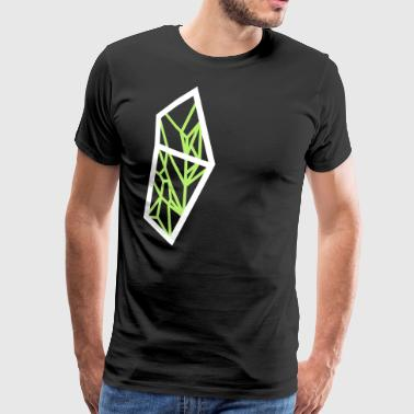Polygon shield - Men's Premium T-Shirt
