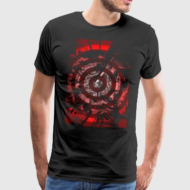 Multispiral Red livery - Men's Premium T-Shirt