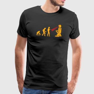 Robot Evolution T-Shirt Gift Nerd Sci-Fi Fan - Men's Premium T-Shirt