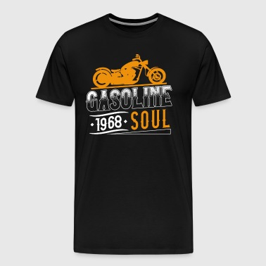 Gasoline Soul | Gasoline inspired - Motorcycles - Men's Premium T-Shirt