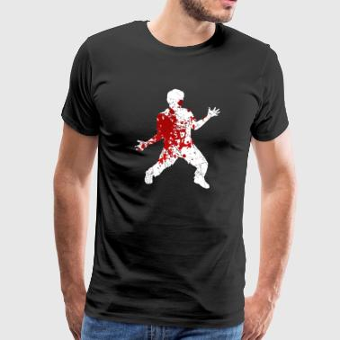 Bloody Zombie - Bloody Zombie Halloween Horror - Men's Premium T-Shirt