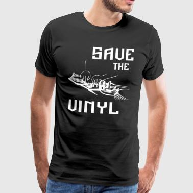 save the vinyl - Männer Premium T-Shirt