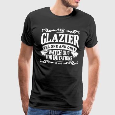 glazier the one and only - Men's Premium T-Shirt