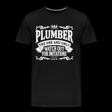 plumber the one and only - Men's Premium T-Shirt