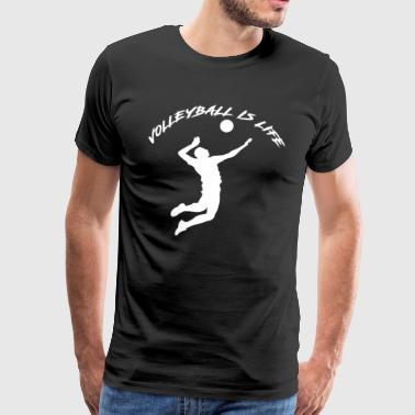 Volleyball is Life - Limitierte Edition - Männer Premium T-Shirt
