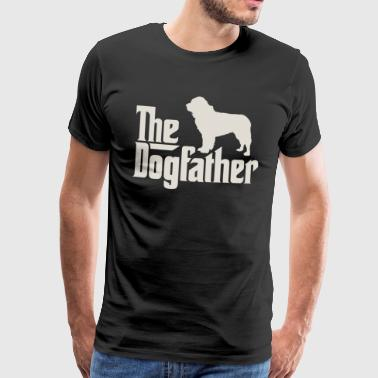 The Dogfather - Newfoundland Newfoundland - Men's Premium T-Shirt