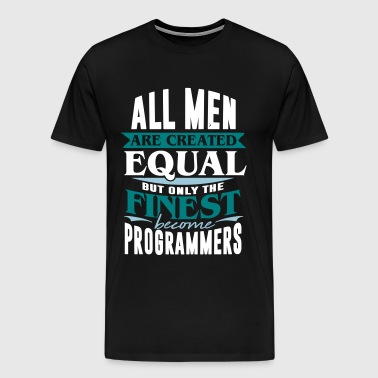 Programmører teknologi IT computerstyring PC - Herre premium T-shirt