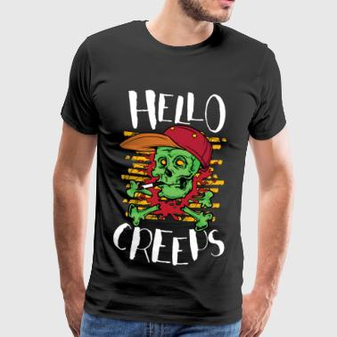 Hello Creeps - Men's Premium T-Shirt