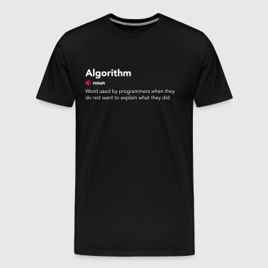 Algorithm dictionary - Men's Premium T-Shirt