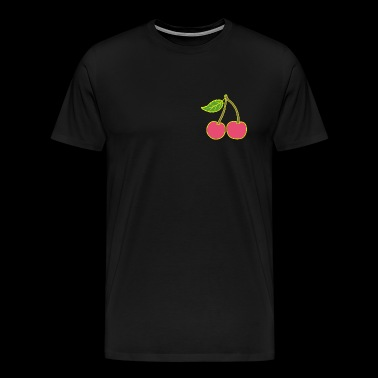High gloss gold cherry to bite! - Men's Premium T-Shirt