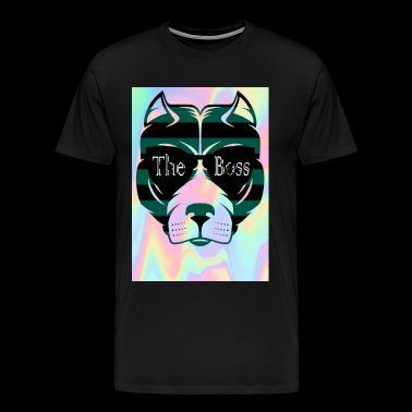 Hund, The Boss - Männer Premium T-Shirt