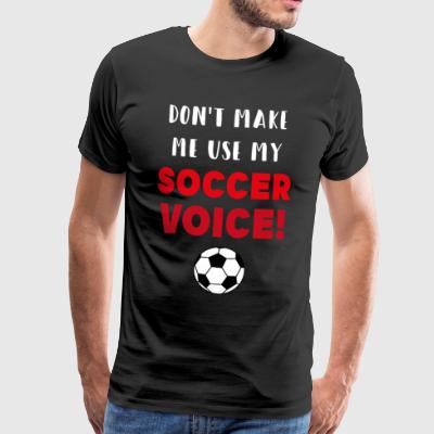 Fotball Tyskland Sports Fan gave - Premium T-skjorte for menn
