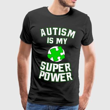 Autism T-Shirt Gift Idea Birthday Funny - Men's Premium T-Shirt
