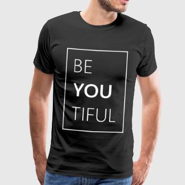 Funny Beautiful - Männer Premium T-Shirt