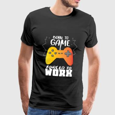 Gaming Nerd Geek Gift Idea - Men's Premium T-Shirt