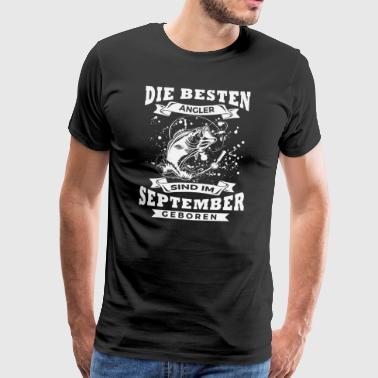 Angler September - Männer Premium T-Shirt