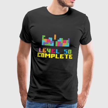 Level 50 Compleet - Mannen Premium T-shirt