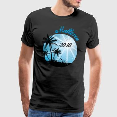 Vacation, Malle, Mallorca Beach T-Shirt Tshirt - Men's Premium T-Shirt