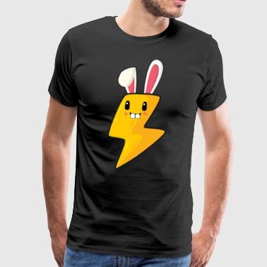 Electrician electricity easter bunny easter gift bunny - Men's Premium T-Shirt