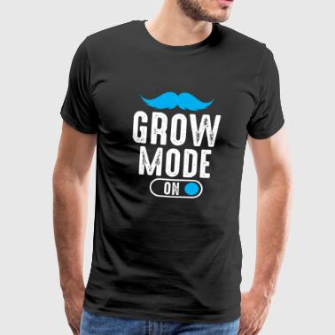 BART BEARDS MUSTACHE: GROW FASHION GIFT - Men's Premium T-Shirt
