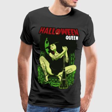 SEXY HEXY - Halloween witches horror gift motif - Men's Premium T-Shirt