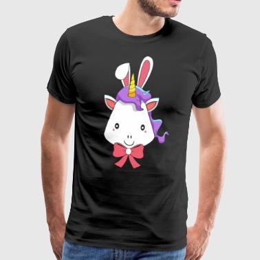 Unicorn Unicorn Easter Bunny Happy Easter Gift - Men's Premium T-Shirt