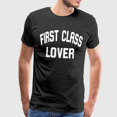 First Lover - Herre premium T-shirt
