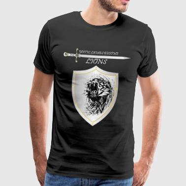 Until lambs become lions - Men's Premium T-Shirt
