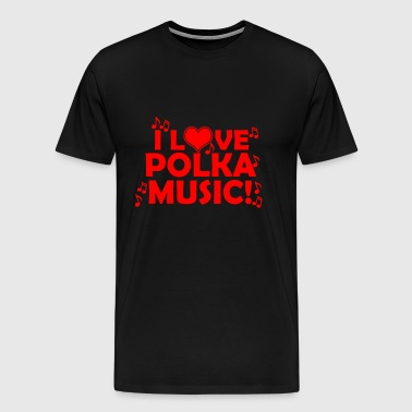 polka music - Men's Premium T-Shirt