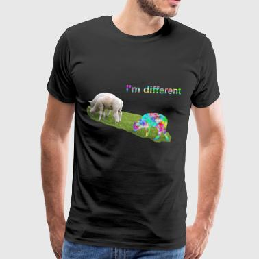 I'm different. Stay different. Be different. - Men's Premium T-Shirt