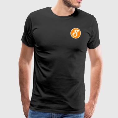 Logo stef Youtube - Men's Premium T-Shirt