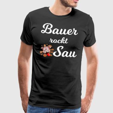 Bauer rocks sow 1 - Men's Premium T-Shirt