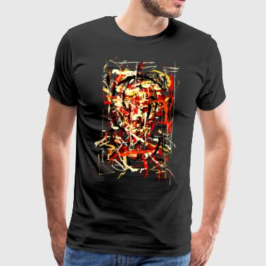 ink face - Men's Premium T-Shirt