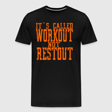 Fitness Coach Trainer Shirt - Men's Premium T-Shirt