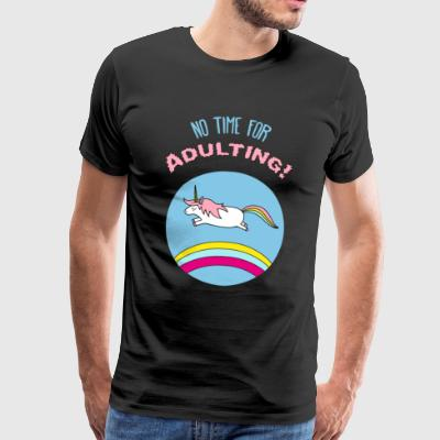 Unicorn adult fancy unicorn gift - Men's Premium T-Shirt